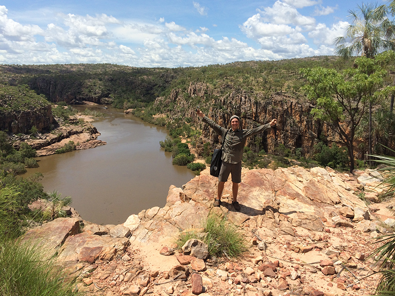 Katherine Gorge national park, 30km north from Katherine