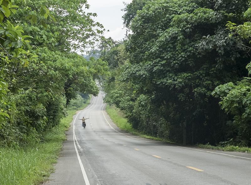 Viimeiset kilometrit ennen Ao Nangia.
