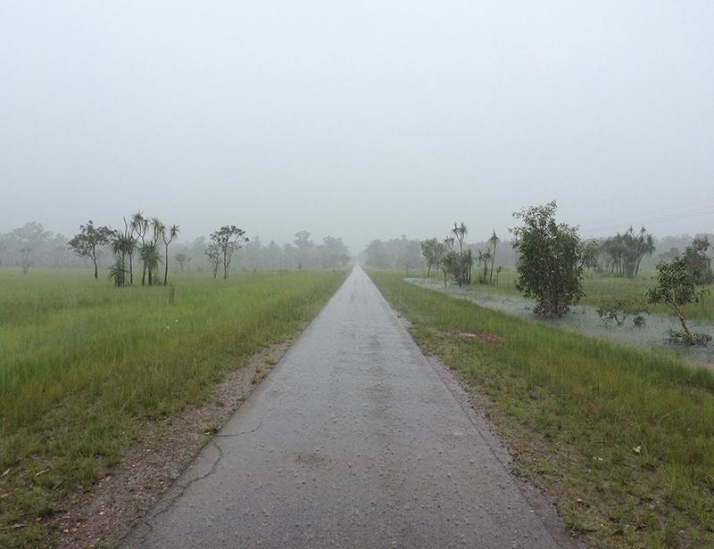Bike path in Darwin